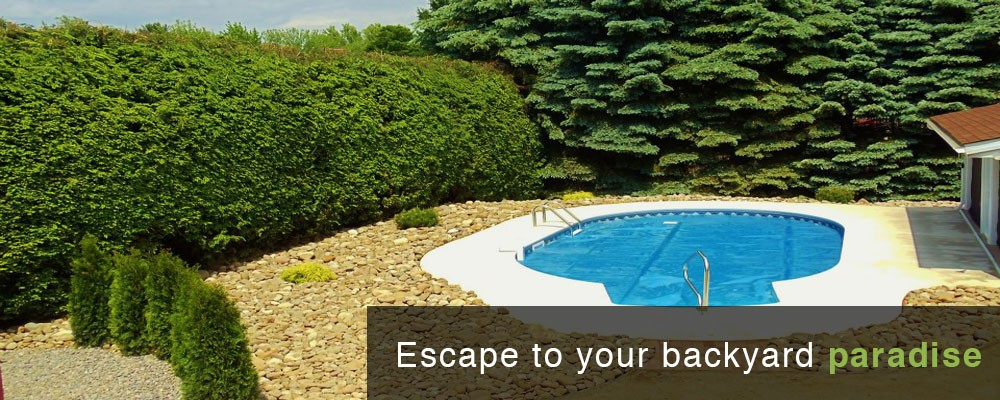Escape to your backyard