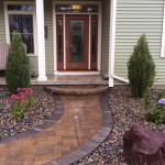 Oak Shade Landscaping Brick Pavers and Stone Steps