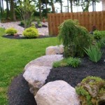 Oak Shade Landscaping Stone Placement